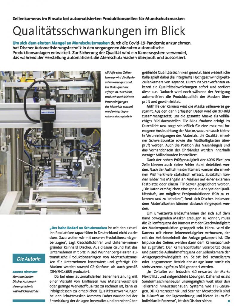 Quelle: Quality Engineering 04.2020